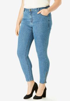 True Fit Zip Ankle Pant,