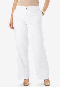 Refined Denim Trouser,