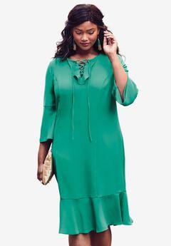Flounce Dress,