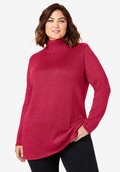 Shimmer Turtleneck,