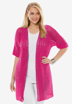 Crochet Duster Sweater,