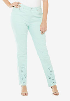 Cutout Tapered Jean,