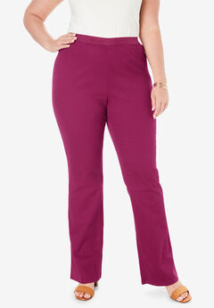 Bootcut Stretch Denim Jeggings, BERRY TWIST