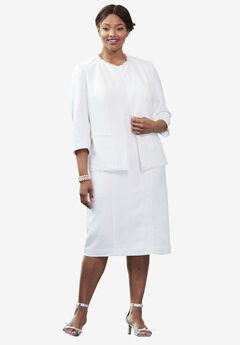 Linen Jacket Dress,