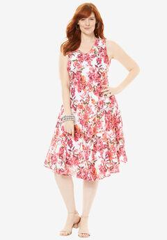 Floral Print Dress,