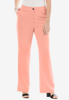 Boot Cut Bi-Stretch Pants,