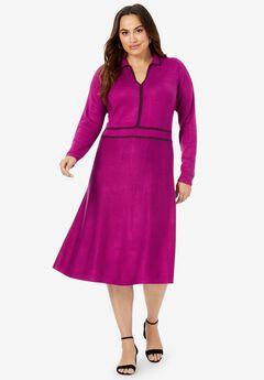 A-Line Sweater Dress,