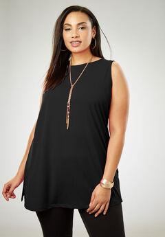786e818f8352a Travel Knit Tunic. Jessica London