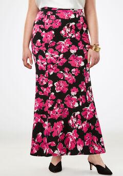 Travel Knit Maxi Skirt,