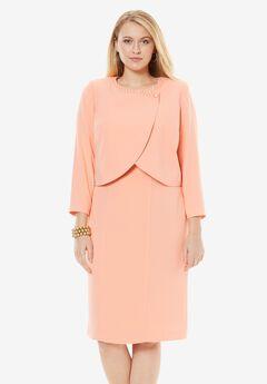 Beaded Bolero Jacket Dress,