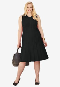 Fit & Flare Sweater Dress,