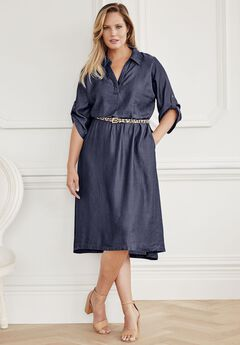 Hi-Low Tencel® Dress,