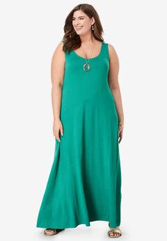06548a23d86 Tank Maxi Dress. Jessica London