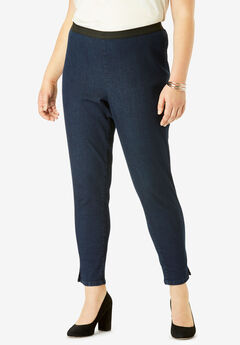 Ankle-Length Denim Jegging,