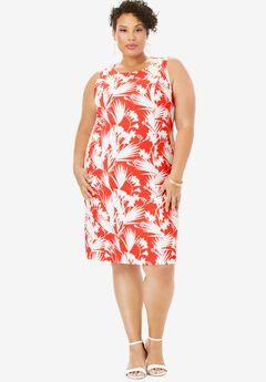 Bi-Stretch Sheath Dress,