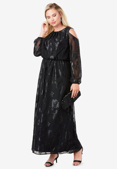 Burnout Maxi Dress,