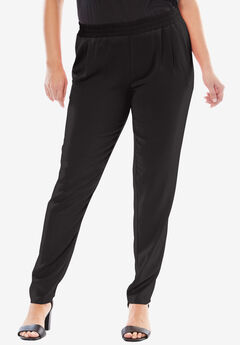 Tapered Pant, BLACK
