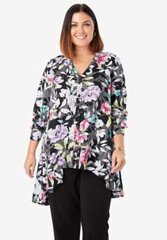 59be4555 Plus Size Tunics for Women | Full Beauty