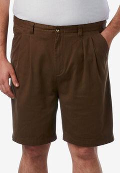 "Knockarounds® 8"" Pleat Front Shorts,"