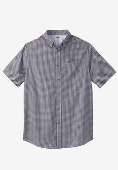 Shrink-Less™ Short-Sleeve Sport Shirt,
