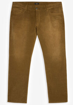MVP Collections® Stretch Corduroy Jeans, CAMEL