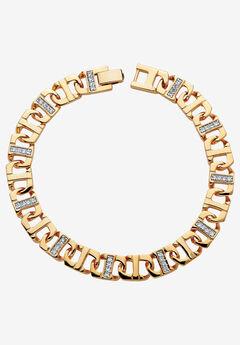Gold-Plated Mariner Bracelet, GOLD