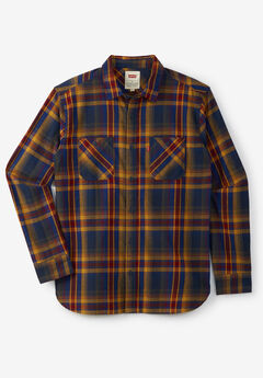 Levi's® Plaid Flannel Shirt, SODALITE BLUE