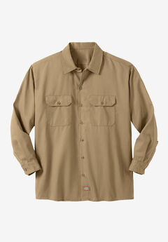 Work Shirt by Dickies®, KHAKI