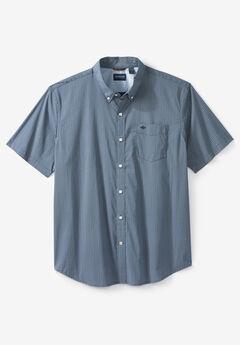 Dockers® Short-Sleeve Comfort Flex Woven Shirt, OCEAN BLUE