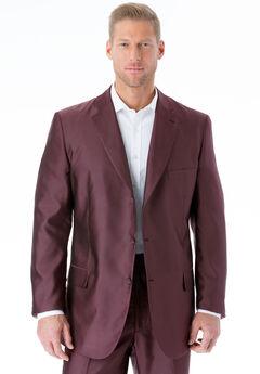 KS Signature Easy Movement® Three-Button Jacket, BURGUNDY PINDOT