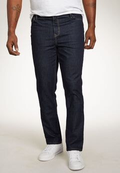 Liberty Blues® Relaxed Tapered Fit 5-Pocket Stretch Jeans,