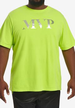 MVP Collections® Neon Logo T-Shirt,