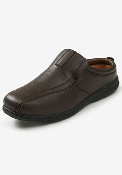 Casual Leather Slides,