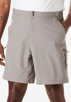 Reel Life® Hybrid Water-Resistant Cargo Shorts,