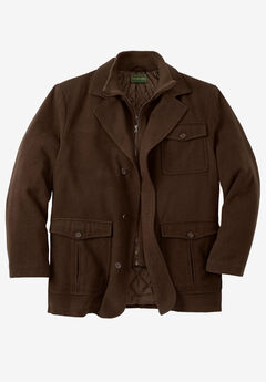 Multi-pocket Inset Jacket,
