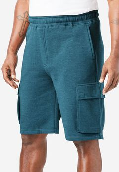Fleece Cargo Shorts ,