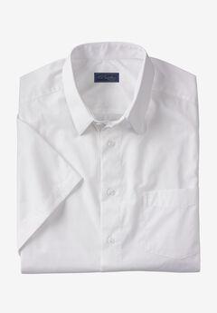 KS Signature No Hassle® Short-Sleeve Dress Shirt,