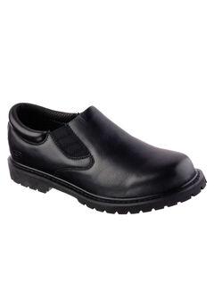 Relaxed Fit Cottonwood Goddard SR Work Shoe by Skechers®,