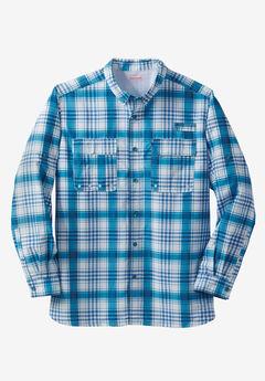 Off-Shore Long Sleeve Sport Shirt by Boulder Creek®,