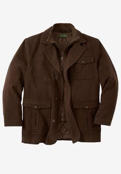 Multi-pocket Inset Jacket,