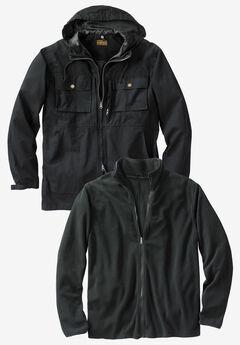 3-in-1 Resistance Jacket by Boulder Creek®,