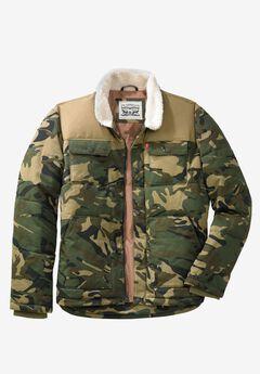 Woodsman Puffer Trucker Jacket by Levi's®,