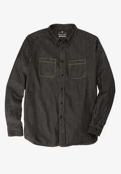 Long-Sleeve Utility Shirt by Liberty Blues®,
