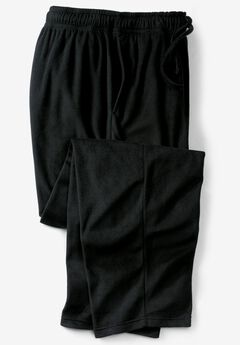 Solid Microfleece Pajama Pants,
