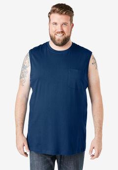 Boulder Creek® Heavyweight Pocket Muscle Tee,