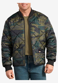 Diamond Quilted Nylon Jacket by Dickies®,