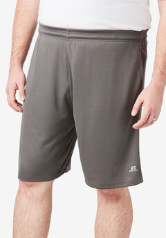 Russell Athletic® Dri-Power Performance Shorts, GRANITE