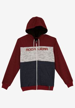 Three Tone Zip Hoodie by Rocawear®,