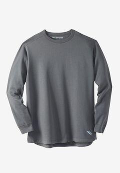 Wicking Fleece Crewneck Sweatshirt by KS Sport™,