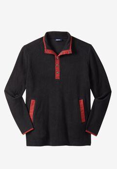 Explorer Fleece Quarter Snap Jacket by Boulder Creek®,